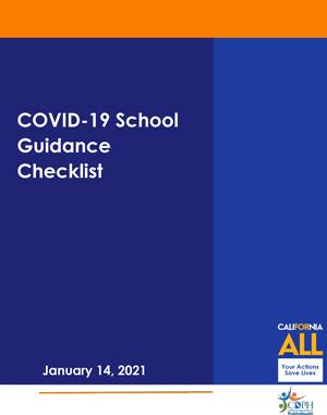 COVID-19 School Guidance Checklist