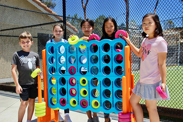 Students having fun at DMP Summer Day Camp
