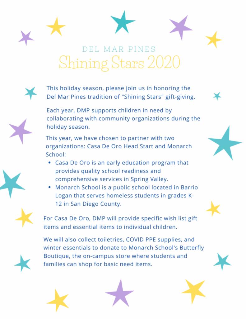 DMP Shining Stars 2020 poster