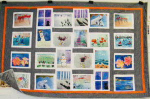 A Quilt for all Seasons painting