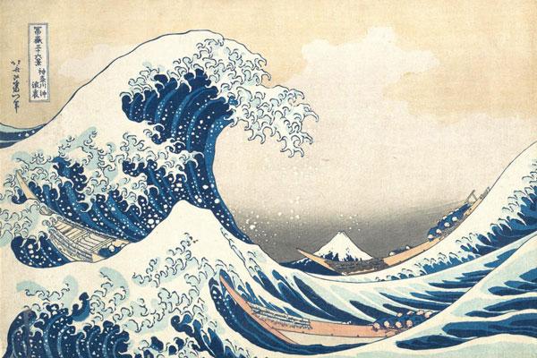 Great Wave of Kanagawa painting
